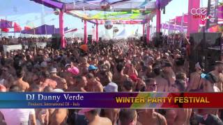 DJ Danny Verde at Winter Party Beach Party Festival 2014 - live web streaming - LGBT pride