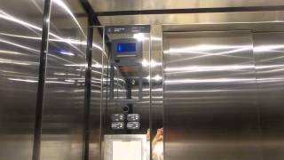 (For JimLiElevators) Thyssenkrupp Hydraulic Elevator At Collin College Spring Creek Library