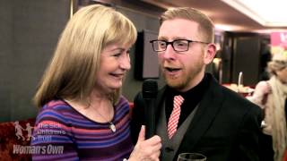 The Big Chocolate Tea Party Launch event - Sian Lloyd and Paul A Young Vox Pop