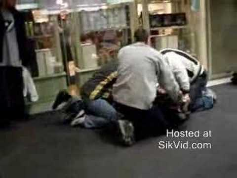 loss prevention guards in action - YouTube