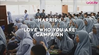 Video Harris J - Love Who You Are Campaign download MP3, 3GP, MP4, WEBM, AVI, FLV Desember 2017