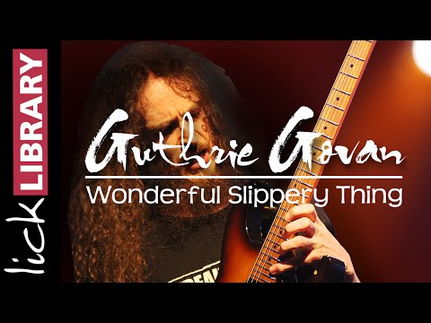 Guthrie Govan - Wonderful Slippery Thing - Guitar Solo Performance
