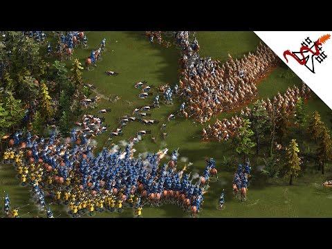 Cossacks 3 - 4v4 DENMARK vs PRUSSIA | Multiplayer Gameplay