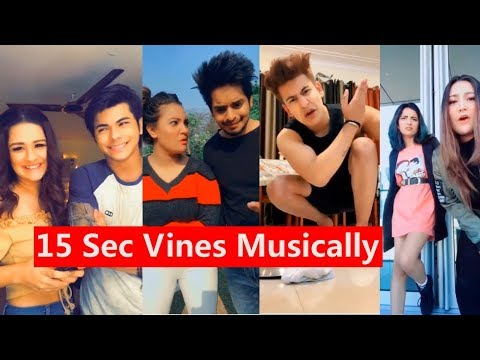 15s Vines Comedy Musically | Manjul, Avneet, Team 07, Aashika., Awez Darbar