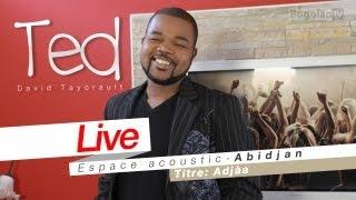 David Tayorault (TED) - Adjàa (Live Espace Acoustic 2011)