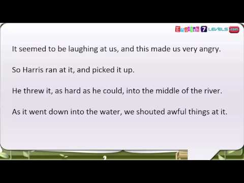 Learn English Through Story   Subtitles  Three Men in a Boat Level 4