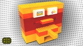 Lego Candy Dispenser *maoam + Gumballs*