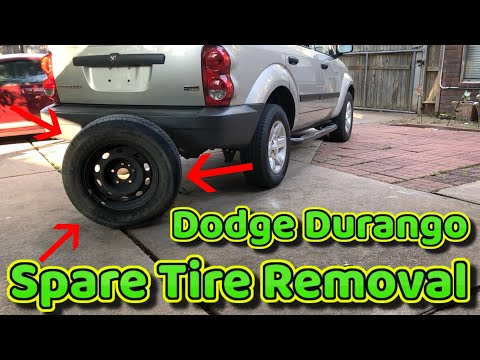 How to remove Spare tire on Dodge Durango