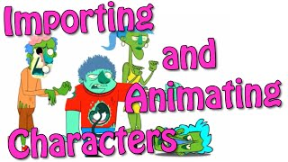 Importing and Animating Characters using Animatron