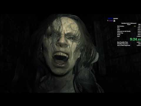 Resident Evil 7 NG+ Any% Speedrun in 1:29:53