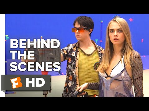 Valerian and the City of a Thousand Planets Behind the Scenes - Big Market (2017) | Movieclips