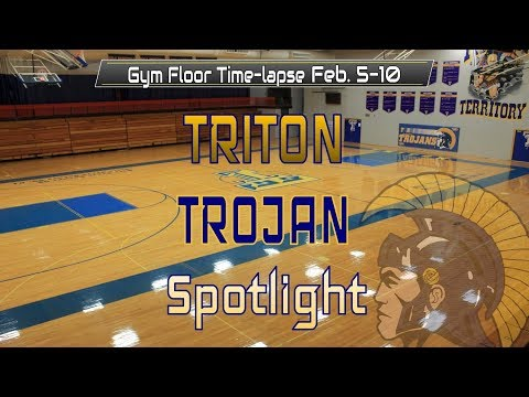 Trojan Trench Floor Project -  Week 1 Time-lapse