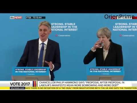 Theresa May & Philip Hammond Responding to Labour