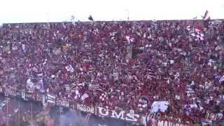 """Lo stadio Arechi canta """"Vattene Amore"""" promozione in B Salernitana 09/05/2015"""