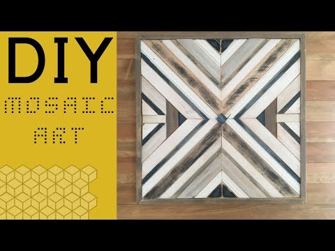 DIY Mosaic Art - How To DIY
