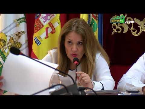 Pleno Ordinario del Ayuntamiento de Gines. 30 mayo 2018