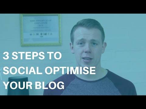 3 Steps to Social Optimise Your Blog - SEO Vs SMO in Blogging
