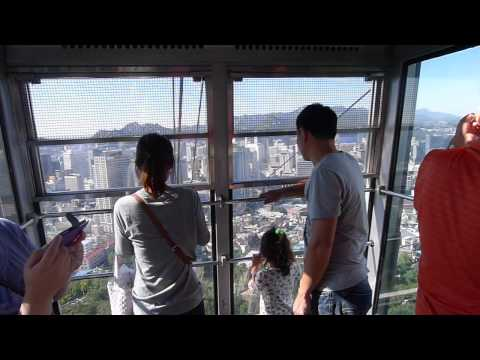 Cable Car to Seoul Tower