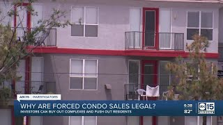 Lawmakers pushing for change to AZ law that forces condo owners to sell to investors
