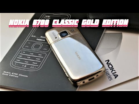 Обзор Nokia 6700 Classic Gold Edition original 2018 gadget x