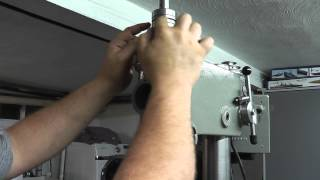 *fixed* Southbend Drill Press Bearing Replacement Part 2