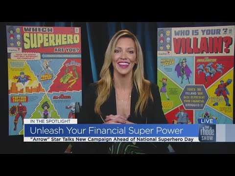 Katie Cassidy wants you to unleash your inner super power