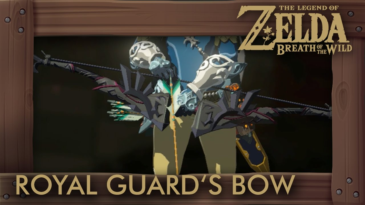 Zelda Breath of the Wild - Royal Guard's Bow Locations