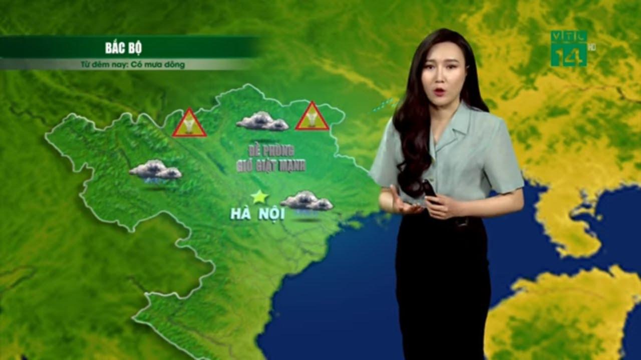 Thời tiết 12h 27/03/2020: Đêm nay miền Bắc đón KKL, đề phòng thời tiết cực đoan| VTC14