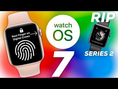 Apple Watch Series 6/7 Leaks + WatchOS 7 Details