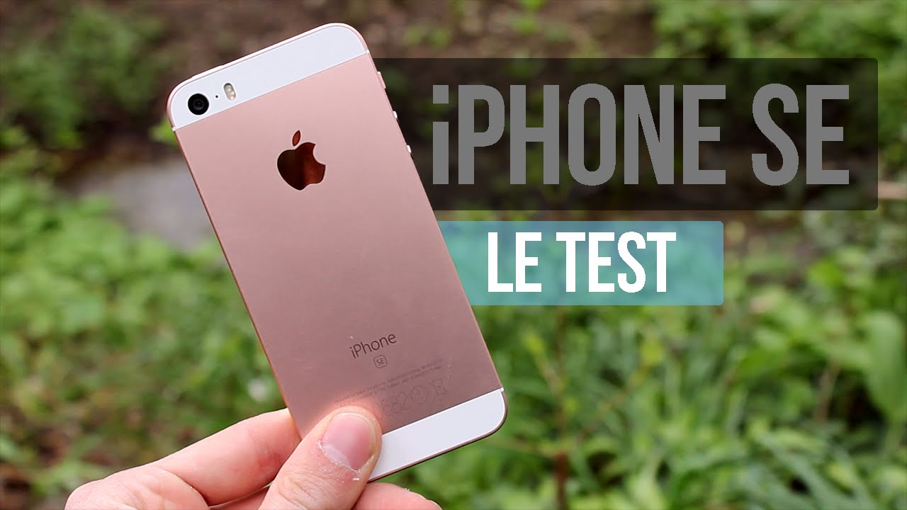 apple iphone se le test complet youtube. Black Bedroom Furniture Sets. Home Design Ideas
