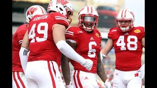 Wisconsin Football 2017-2018 hype video    EveryDay We Lit   