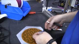 Kossel Mini Heated Bead And Aluminum Print Surface