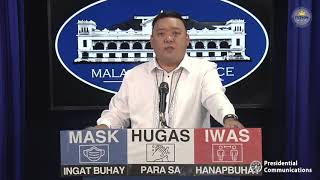 Press Briefing By Presidential Spokesperson Harry Roque, Jr. 1/26/2021