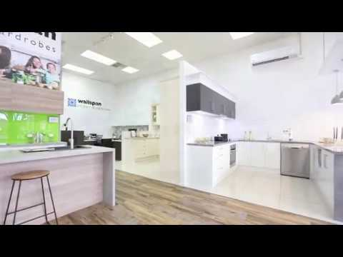Wallspan Keswick Kitchen Design Showroom - YouTube