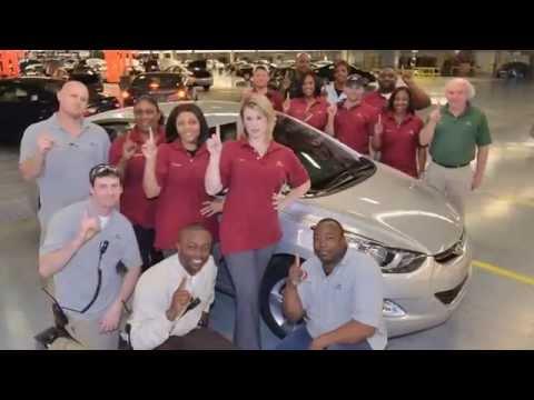Celebrating 10 Years Of Hyundai Production In Montgomery Alabama