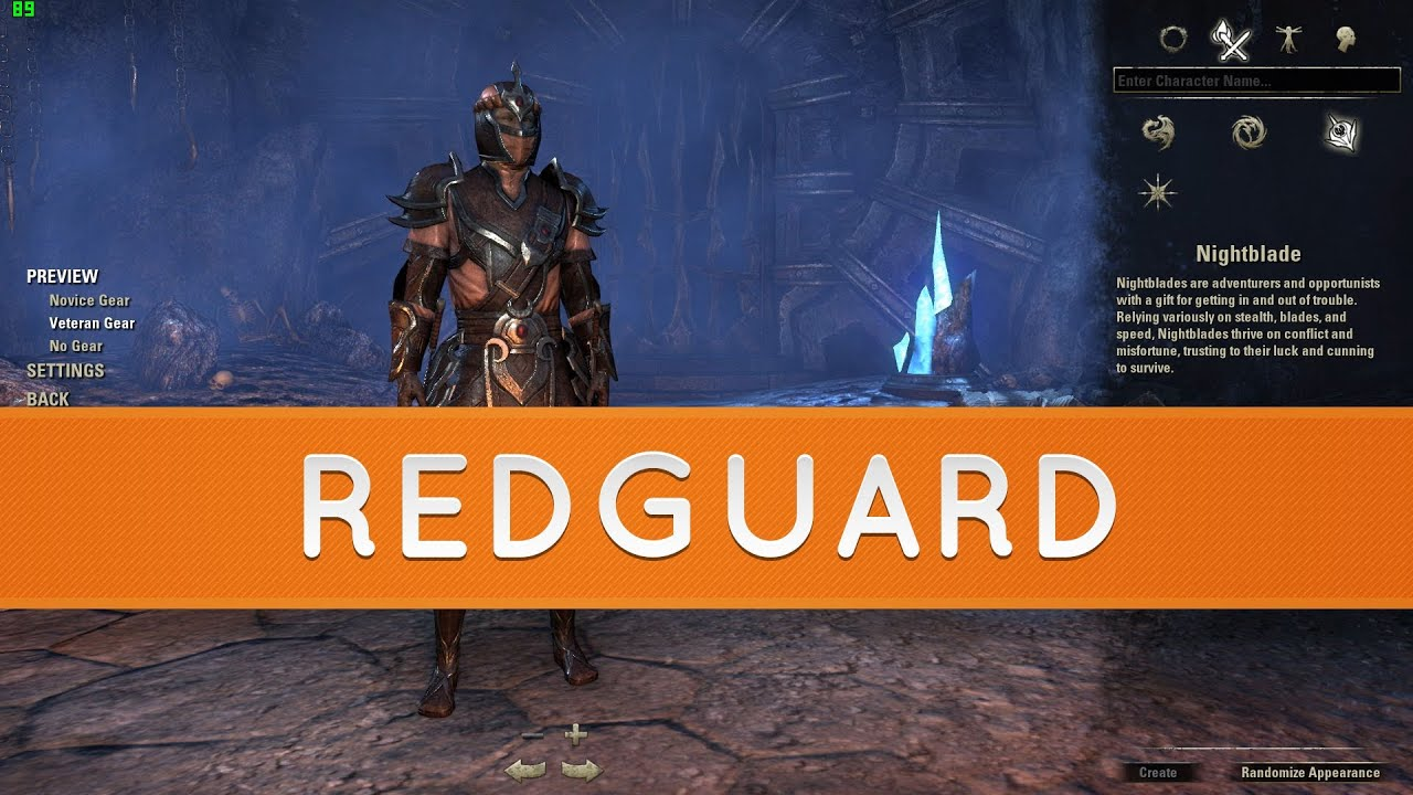 The Elder Scrolls Online: Races - Redguard - YouTube Play Elder Scrolls Redguard Online