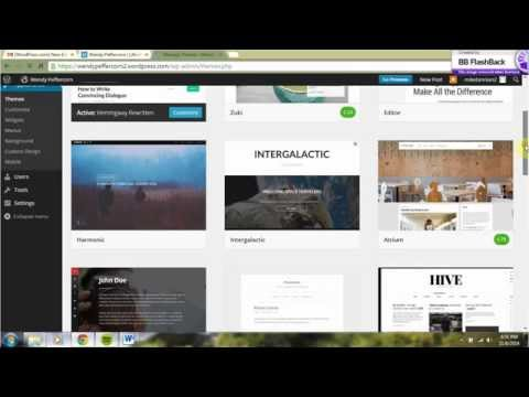 Beginners Wordpress Tutorial for Authors