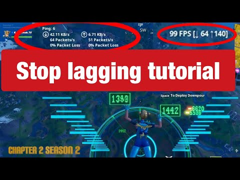 How To STOP LAGGING In Fortnite Chapter 2 Season 2! Stop Lagging Glitch PS4/ XBOX/ PC/ PHONE