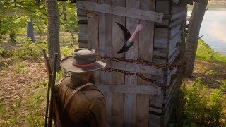 Girl Locked in an Outhouse Braithwaites Secret Daughter Red Dead Redemption 2