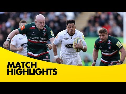 Leicester Tigers v Wasps - Aviva Premiership Rugby 2017-18