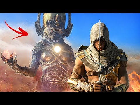J'AFFRONTE UN DIEU ! ASSASSIN'S CREED ORIGINS FUNNY MOMENT
