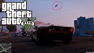 GTA 5 PC Funny Graphics Glitch - Flying Benches - Max Settings (60 FPS)