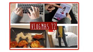 Emails, Fuente de inspiración & look fin de año | Vlogmas 12 Thumbnail