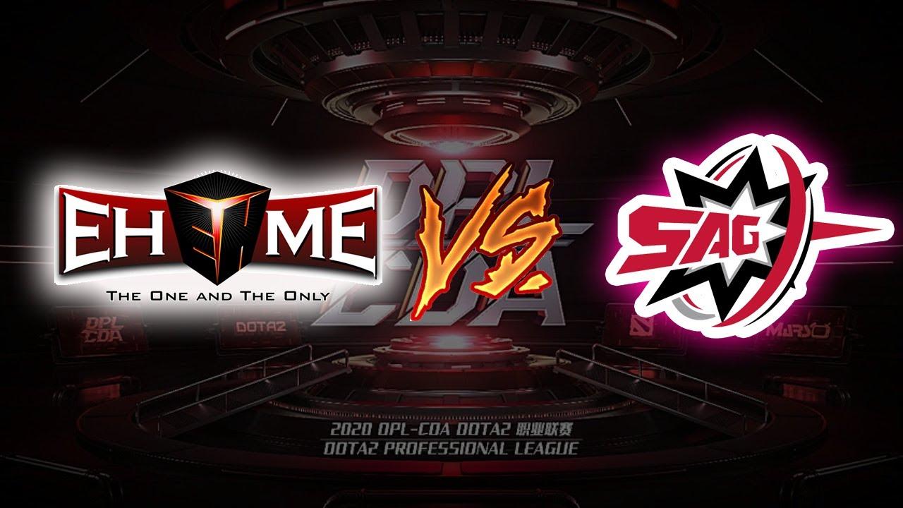 🔴 LIVE DOTA 2 | EHOME vs SAG | DPL-CDA Professional League Season 1 I KUDO