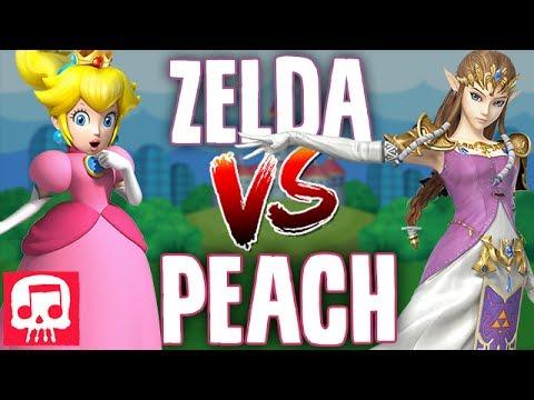 ZELDA VS PEACH RAP BATTLE by JT Machinima
