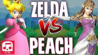 ZELDA VS PEACH RAP BATTLE by JT Music