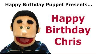 Funny Happy Birthday Chris - Birthday Song