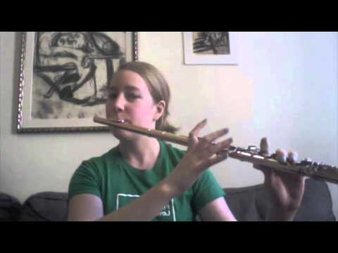 Flute Key Clicks Demonstration