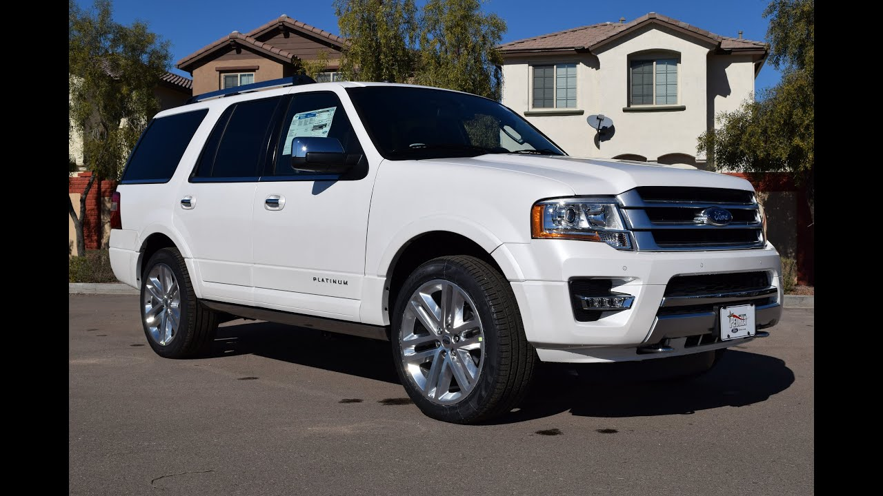 2016 ford expedition platinum walkaround