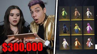 ¡MI AMIGA YURI REACCIONA a MI CUENTA MILLONARIA de FREE FIRE! +$300,000 pesos *exclusiva*